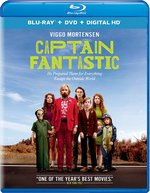 Captain Fantastic Blu-Ray Cover