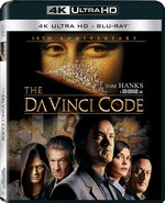 Blu-Ray Cover for The Da Vinci Code 10th Anniversary