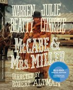 Criterion Collection Blu-Ray Cover for McCabe & Mrs. Miller