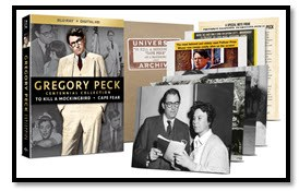 Gregory Peck Centennial Collection Blu-Ray Cover