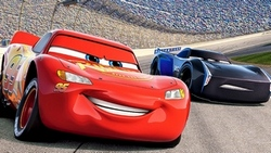 Lightning McQueen (Owen Wilson) figures out his place in a new, fast-paced racing world in Cars 3.
