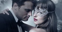 Dakota Johnson and Jamie Dornan get all hot and bothered in the top 2017 romance Fifty Shades Darker.