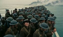 One of the most important turning points in WWII is brought to vivid detail on land, sea and air in the top 2017 war film Dunkirk.