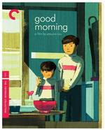 Good Morning Criterion Collection Blu-Ray Cover