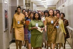 Taraji P. Henson, Octavia Spencer and Janelle Monáe lead the charge for diversity in the top 2016 drama, Hidden Figures.