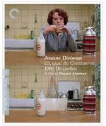 Jeanne Dielman, 23, Quai Du Commerce, 1080 Bruxelles Criterion Collection Blu-Ray Cover