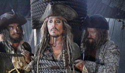 Captain Jack Sparrow (Johnny Depp) finds himself in over his head once again in the top 2017 fantasy movie Pirates of the Caribbean: Dead Men Tell No Tales.