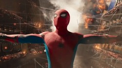 Tom Holland is Spider-Man in action in the top 2017 action film, Spider-Man: Homecoming