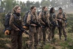 Natalie Portman, Gina Rodriguez, Tessa Thompson, Tuva Novotny head into the unknown in the top 2018 sci-fi film Annihilation.